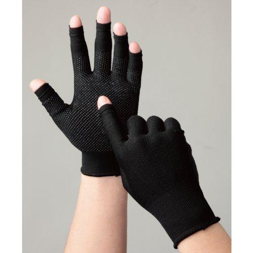 ミドリ安全 【手の中でスマホが滑りにくい/手のひら全体滑り止め】 《指先出し入れ可》 スライドタッチ手袋