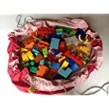 Lego Bag And Playmat In One 120cm Diameter - B010N7C2RS