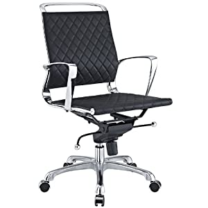 Look Check Price Charles Eames Vibe Modern Mid Back Black Office Chair Adjustable Home Desk Chairs Tuyenquang042014