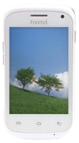 freetel SIMフリー スマートフォン スペシャルパック ( Android4.1 / 3.5inch / 標準SIM Dual sim / 512MB / 8GB microSD付属 / ホワイト ) FT132A_WH_SP