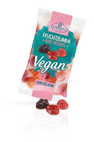 Lühders - Veganes Fruchtgummi Rote Früchte - 80g
