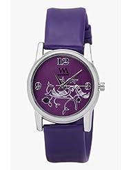Watch Me Purple Metal Analogue Watch For Women WMAL-103-PR