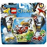 Game / Play LEGO Chima CHI Battles 70113 Includes Longtooth And Wakz Minifigures With 4 Weapons. Toy / Child /...