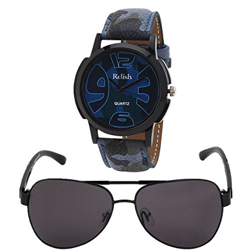 Relish Analog Round Casual Wear Watches For Men Combo - B01ANCDDKS