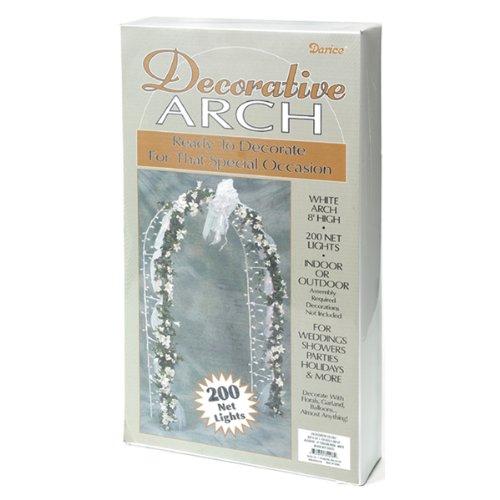 Darice 5209-06 Decorative 8-Foot-Tall White Wedding