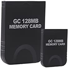Hde 2 Pack Of 128 Mb Gaming Memory Cards For Nintendo Wii And Game Cube (Black) [Video Game]