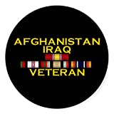 Afghanistan & Iraq VET Sticker