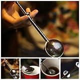 Stainless Steel Mesh Ball Spice Herbal Loose Leaf Infuser Tea Strainer Filter