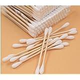 Drhob Double Stick Health Cotton Cotton Stick Health Cotton Baby Stick Cotton Cotton Swab Stick (Color: White,...