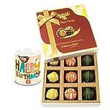 Chocholik Luxury Chocolates - Sweet Admire Of Yummy Chocolates With Birthday Mug