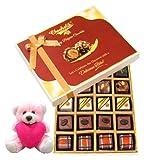 Celebrating Best Moment Gift Box With Teddy - Chocholik Belgium Chocolates