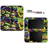 Teenage Mutant Ninja Turtles TMNT Decorative Video Game Decal Cover Skin Protector for New Nintendo 3DS XL (2015 Edition)