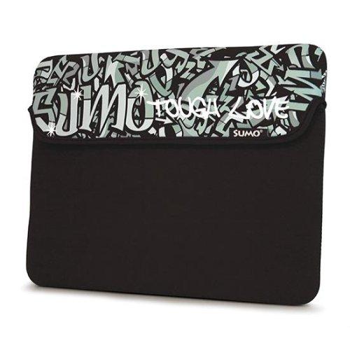 Black Graffiti Neoprene Netbook Sleeve Case