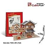 W3130h Cubicfun Cubic FUN 3d Puzzle Model China Flavor Leming Teahouse 6.5