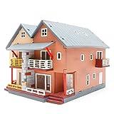 [YOUNGMODELER] Desktop Wooden Assembly Model Kits (Duplex House)