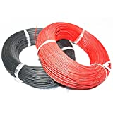 2 Meter 18 AWG Flexible Silicone Wire Cable (B 100cm + R 100cm) for RC Model DIY /item# R6SG5EB-48Q14044