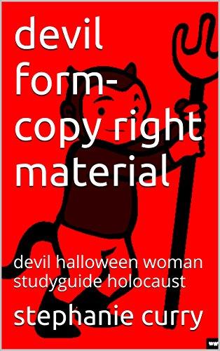 devil form-copy right material: devil halloween woman studyguide holocaust Pdf