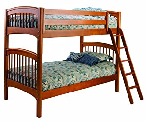 linon home decor bunk bed new bolton 9840y00 bunk bed honey linon 12987