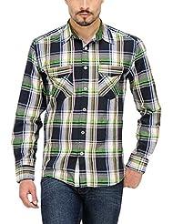 Yepme Men's Checks Cotton Shirt - YPMSHRT0333