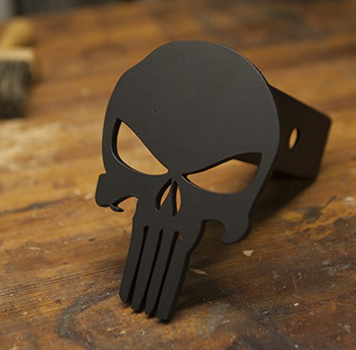 Punisher Trailer Hitch Cover – Steel & Powder Coated