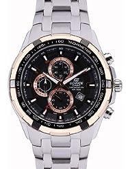 Casio Edifice Analog Black Dial Men's Watch - EF-539D-1A5VDF (ED368)
