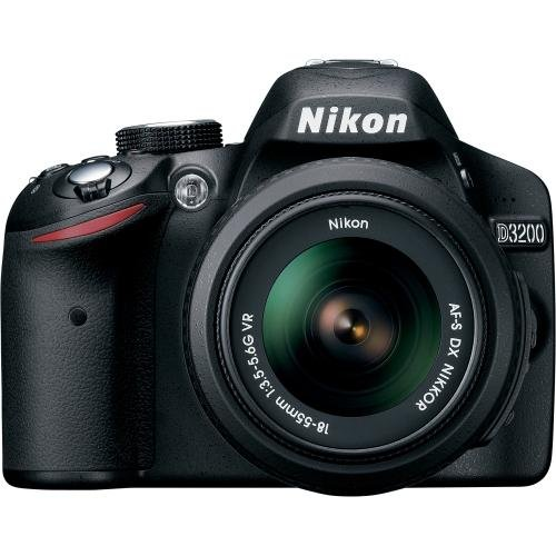 Nikon D3200 24.2 MP CMOS Digital SLR with 18-55mm f/3.5-5.6 AF-S DX NIKKOR Zoom Lens (Certified Refurbished)