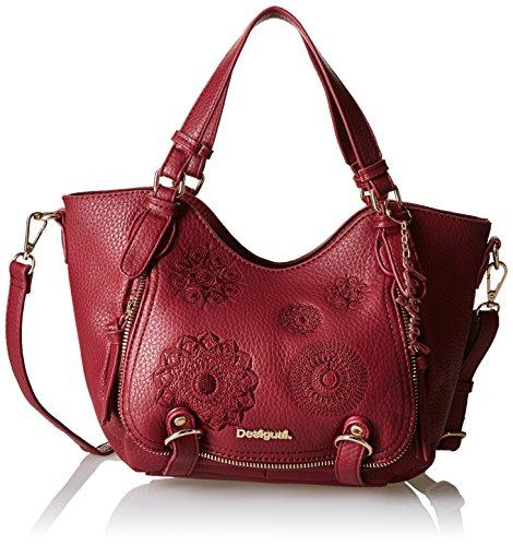 Desigual ROTTERDAM MINI ALEXA, Sacs bandoulière femme - Rouge (3082), 18x18.5x11.5 cm (B x H x T)