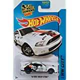 Hot Wheels, 2015 Hw City, 10 Ford Shelby Gt500 [White] Die Cast Vehicle #11/250, 1:64 Scale
