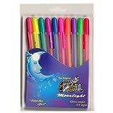 Sakura Gelly Roll Moonlight ---Set Of 10 Pens---Roller-ball Pens---water Based Gel Ink---acid Free, Water, Fade...