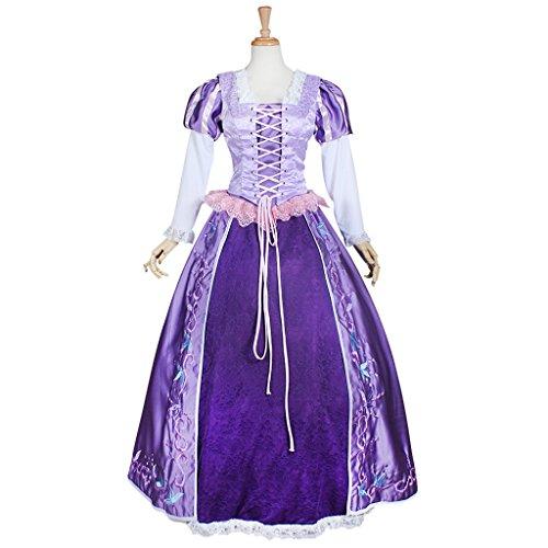 Halloween 2017 Disney Costumes Plus Size & Standard Women's Costume Characters - Women's Costume Characters Women's Cosplay Costume Tangled Rapunzel Princess Plus Size Disney Costumes 2015 - - Women's Costume Characters