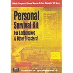 Personal Survival Kit for Earthquakes & Other Disasters