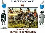 Napoleonic Wars Waterloo British Foot Artillery