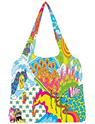 Snoogg Colourful Pattern 2496 Womens Jhola Shape Tote Bag