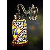 Elegant Mosaic Handmade Wall Light Lamp 10 X 9 Inches