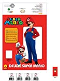 Super Mario Brothers, Deluxe Mario Costume, Medium