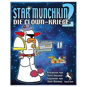 Star Munchkin 2: Clown-Kriege [Kartenspiel] für 11,99 €