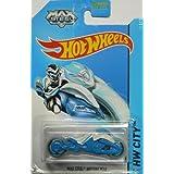 Hot Wheels 2014 Hw City Tooned 1 Max Steel Motorcycle 85/250