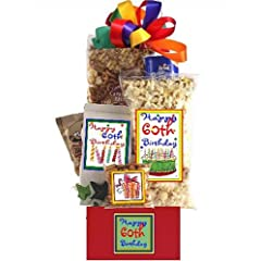 Happy 60th Birthday Gift Basket Delight