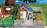 Gebäude Gartenhaus zur Laubenkolonie, mit Platte, Modellauto, Bausatz, Kibri 1:87