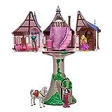 Disney Parks Rapunzel Tangled Tree House Playset Dollhouse