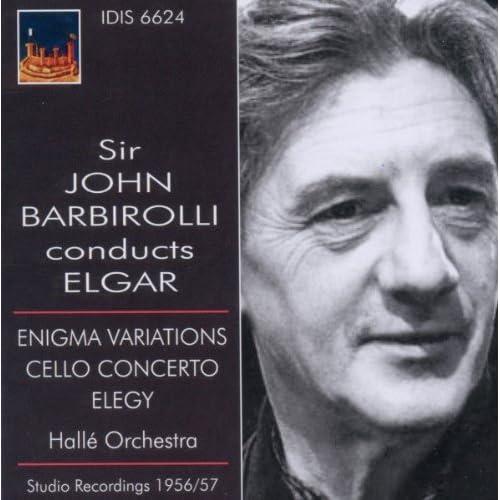 John Barbirolli Conducts Elgar Andre Navarra Audio CD