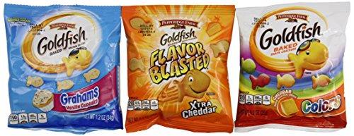 Pepperidge Farm Goldfish Crackers, Variety Pack (30 count), 29.4 oz