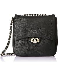 Da Milano Women's Handbag (Black) (Lb-2103W16Blackwax)