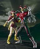 S.I.C. Vol. 55 Masked Rider Stronger & Tackle Action Figure Set (Kamen Rider)
