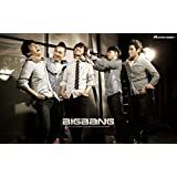 Posterhouzz Music Big Bang Band (Music) South Korea G-dragon T.o.p. Bigbang HD Wall Poster