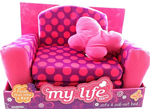 My Life As Sofa And Pull Out Bed Polka Dot