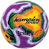 Champion Sports Extreme Tie Dye Soccer Ball , 4/tie Dye