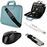 SumacLife Cady HP Stream 11 11.6-inch Laptop And Notebook Briefcase Bag With USB Mouse 4GB Thumbdrive 3 Port USB... - B00S0AT1JI