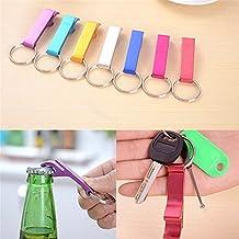 Alcoa Prime Hot Sale!! Mini Portable Aluminium Alloy Beer Bottle Opener Keychain Key Ring Chain Keyring Bar Tool...