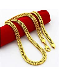 Avn Jewellers 22Ct Pure Gold And Rhodium Coated Chain AVN90